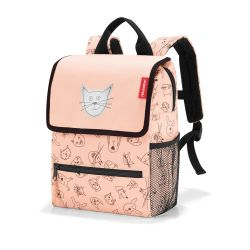 Reisenthel  Backpack Kids Cats And Dogs Rose