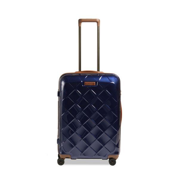 Stratic Leather & More Trolley-M-4DR TSA SZ QR EA blue